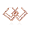 Rose Gold Double Square