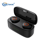 Amazon wireless tws noise cancelling in ear headsets earphone tws wireless earphone custom earbud with wireless charging case