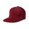 Maroon courduroy cap