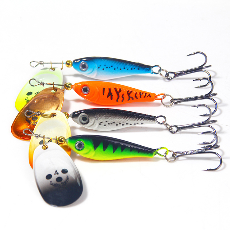 Lures Sequins Metal Bass Hard Spoon Bait Jig Lure Artificial Hook Yellow 28g New