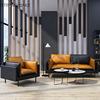 Orange single sofa