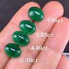 3.85ct natural vivid green emerald loose gemstone