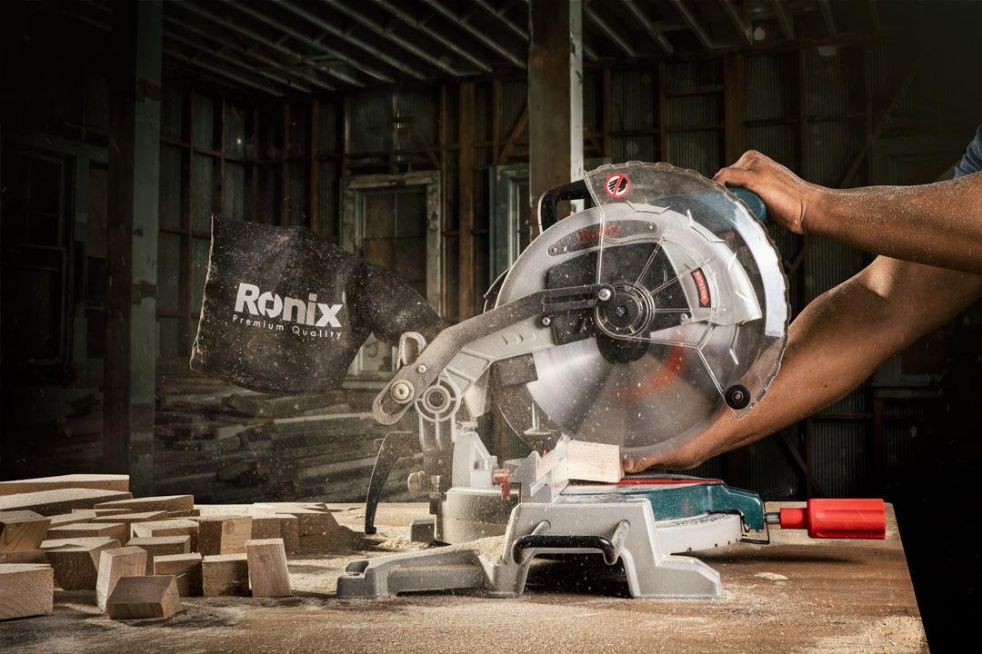 Пила Ronix 5102, 1800 Вт, композитная торцовочная пила