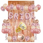 Sash Decorations Amazon Bride To Be Balloon Sash Bachelor Party Rose Gold Bachelorette Party Decorations Kit Bridal Shower Supplies