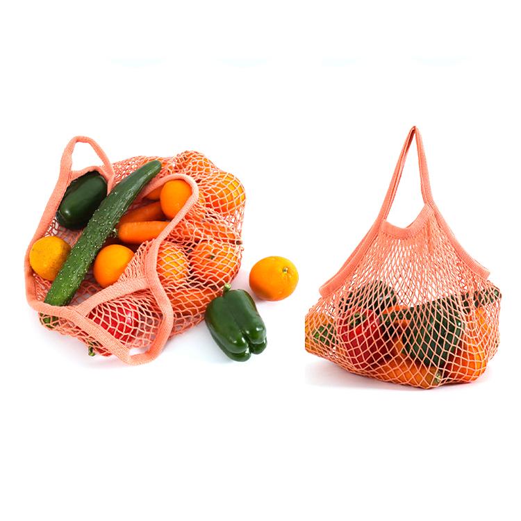 Многоразовая сетка из органического хлопка, сумка-тоут из натурального хлопка на шнурке, сетчатая сетка для покупок, сумка для овощей