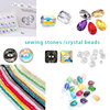 sewing stones and crystal beads