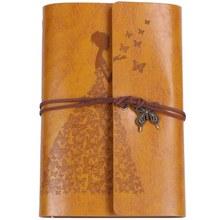 Многоразовые журналы для ноутбуков, A6 дневники для путешествий с кожаным переплетением, дневники для рисования, записные книжки для женщин/...(Китай)