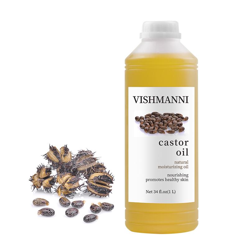 Мощный производитель органического касторового масла для ухода за волосами Косметика Сделано