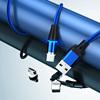 Màu xanh 1m dây + 3 phích cắm
