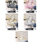 Tote Women Bag Fashion Bags 2021 Luxury Large Ziplock Tote Clear Purses Women Handbags With Makeup Bag Fashion Shoulder Transparent PVC Jelly Bags Set