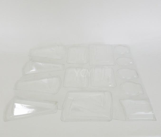 Изготовленный На Заказ Прозрачный ПВХ штампованный блистер для леденцов упаковка для конфет