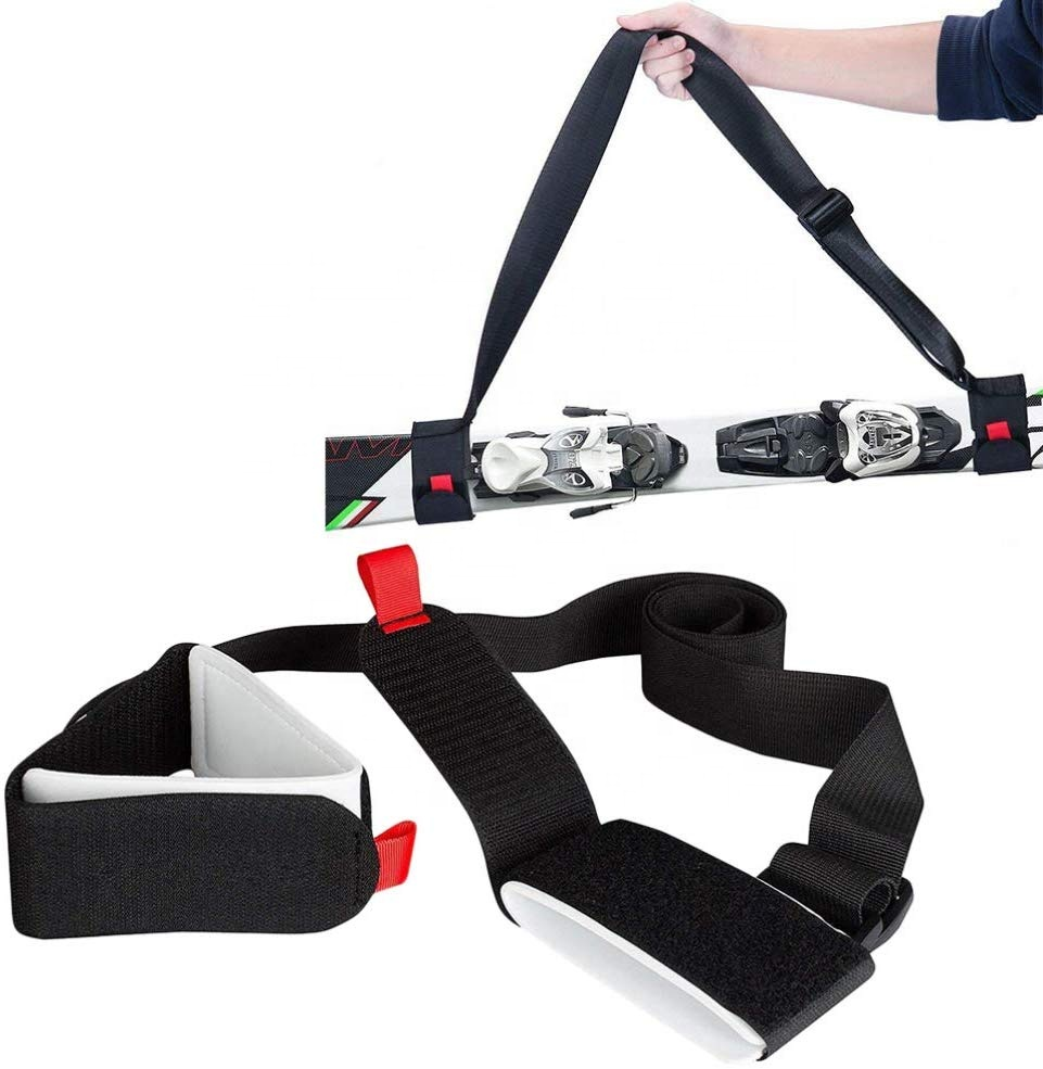 Factory Direct Hot Sales Alpine Winter Sport Cross Country Ski Carrier Strap/Shoulder Strap