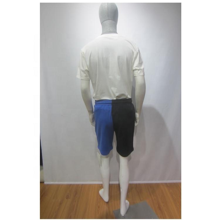 Летние мужские трикотажные спортивные штаны, хлопковые шорты для отдыха
