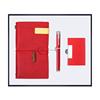 Red-Notebook+pen+name card holder