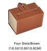4 slots/brown