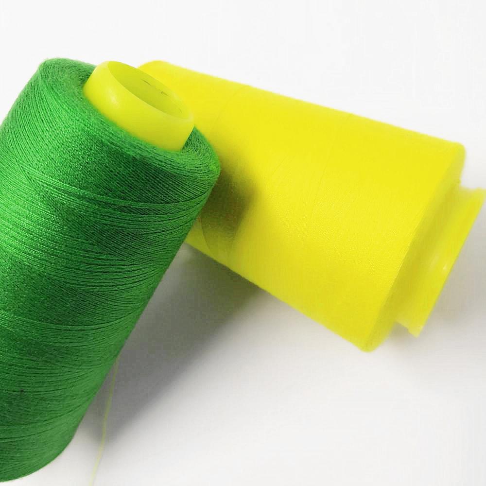Оптовая продажа, Высококачественная швейная нить из полиэстера 100% 40/2 ярдов