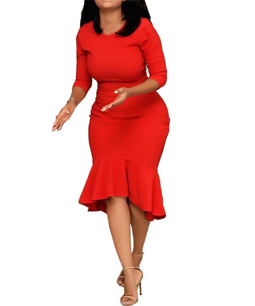 großhandel rotes enges kleid kaufen sie die besten rotes