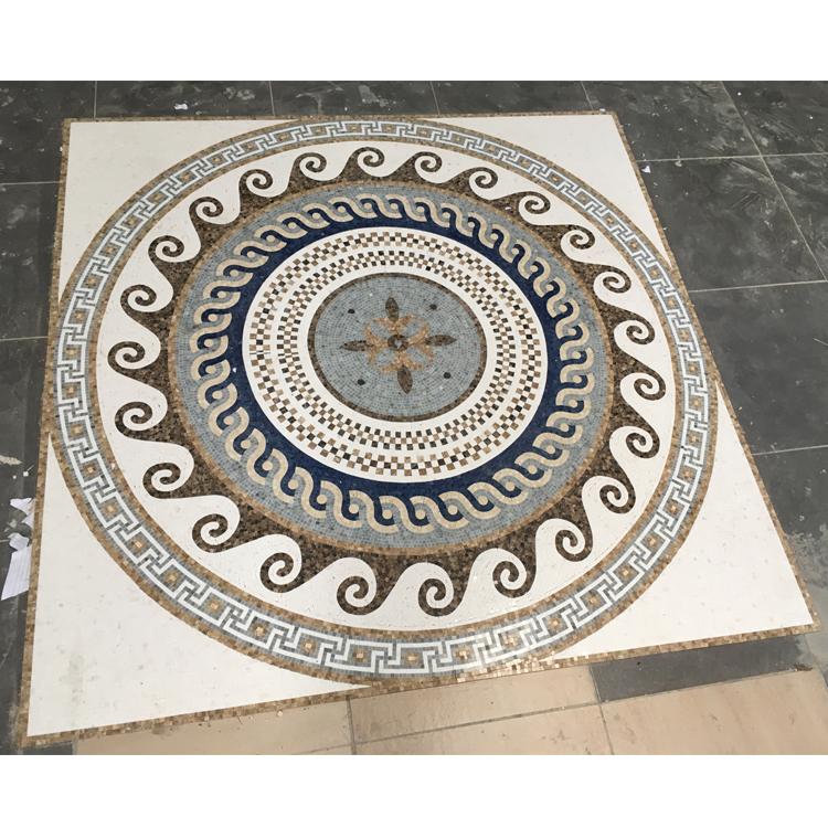 Классический дизайн, мраморная мозаика для домашнего декора пола
