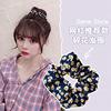 60#Floral Hair Circle-Tibetan Blue@
