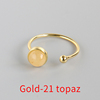 Gold-21 topaz