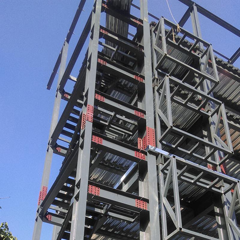 Металл, Промышленные строительные конструкции, легкие стальные сборные здания для отелей