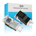 Car Led Welcome Lamp Courtesy Shadow Door Led Car Logo Projector Light For Audi A5 A4L A4 A6 A1 A3 R8 Q7 Q5 TT A8 A6L