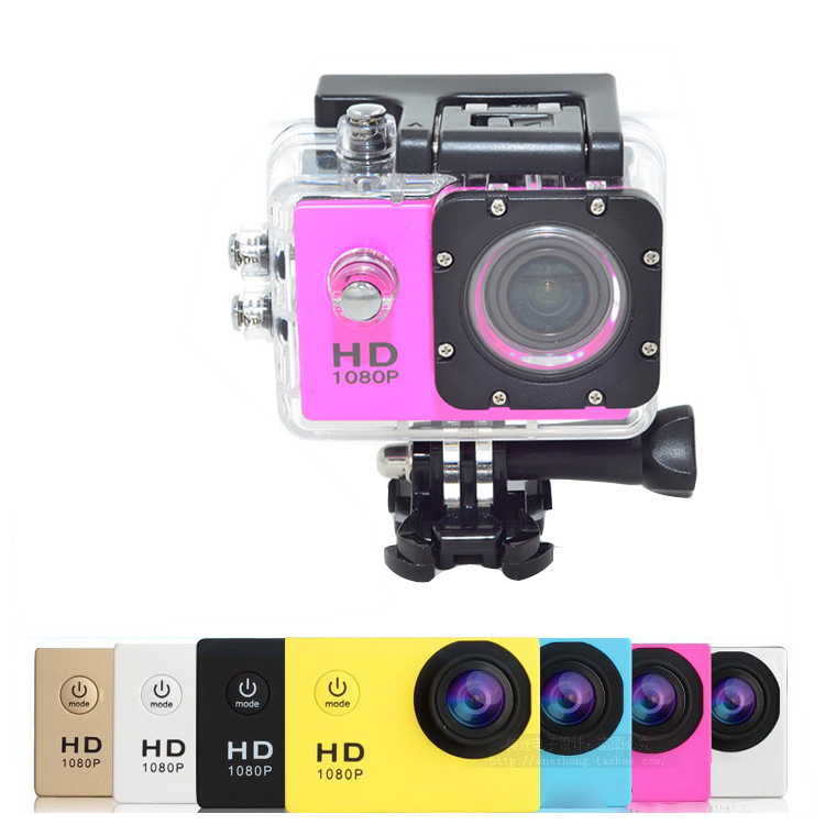 2020 Best Gift Outdoor Aksiyon Camera Akcja Waterproof Manual Extreme Hd Go Pro Cameras De Video Sport Action Camera