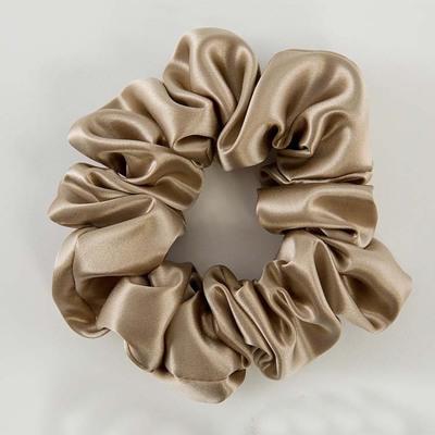 Оптовая продажа, пушистые шелковые резинки для волос, эластичные резинки для волос из чистого шелка тутового шелкопряда