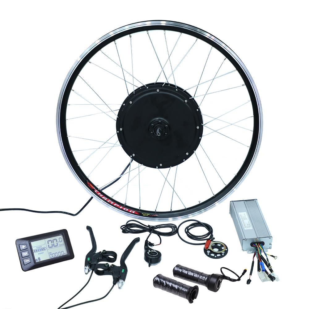 e bike conversion kit bafang 8fun 36v 250w 350w 500w 48v 750w 1000w mid drive motor kits and battery