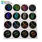 Stikers Stickers Hologram Label Custom Stikers Hologram Pegatinas Etiquetas Personalizadas 3D Glitter Zodiac Waterproof Print Logo Labels Die Cut Sheet Stickers