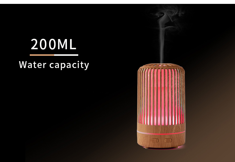 Wooden Difuser Essential Oils Ultrasonic Atomizer Professional Automatic Electric Aromatherapy Essential Oil Aroma Diffuser