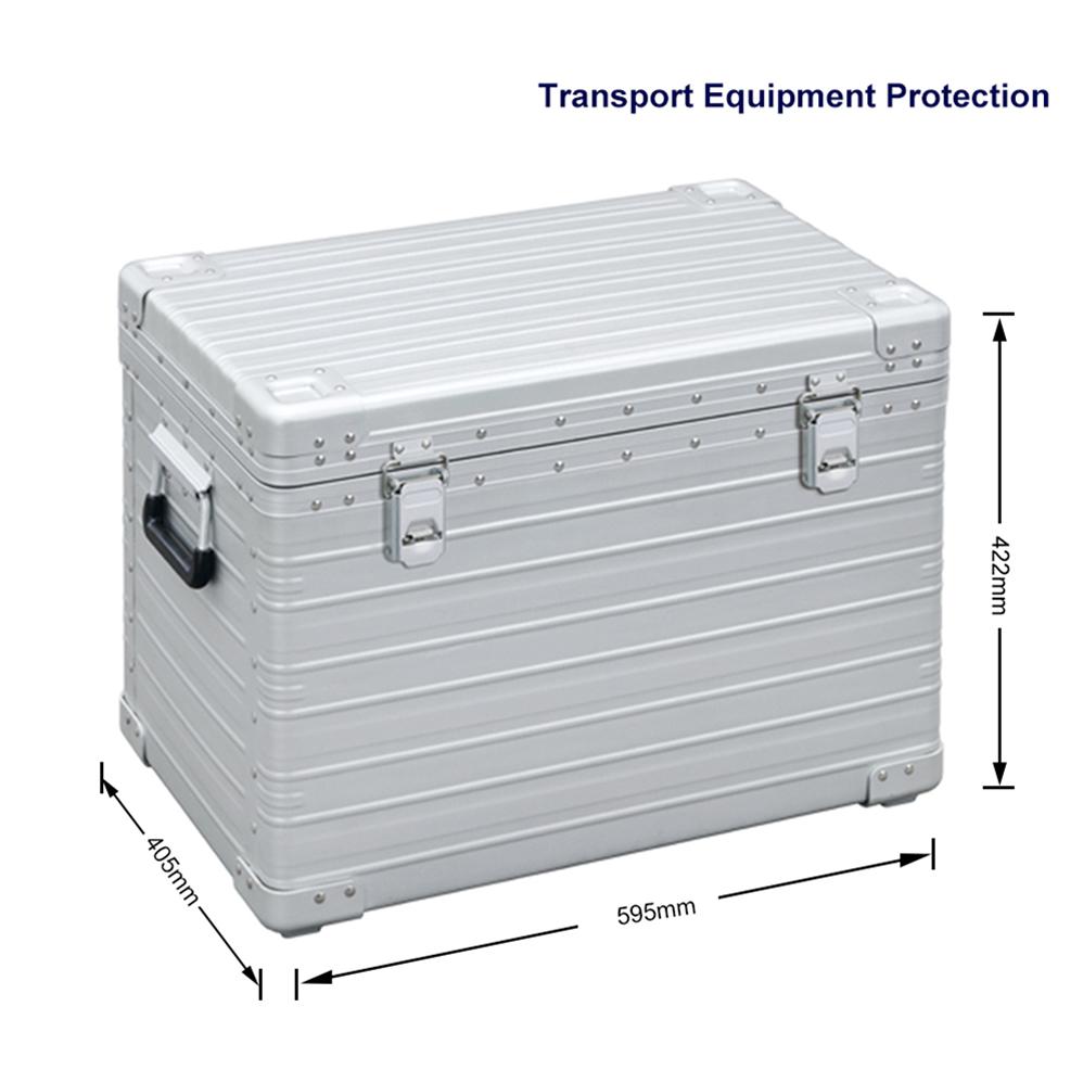 OEM оборудование для инструментов, транспортировка, алюминиевый футляр для макияжа, футляр для ювелирных изделий с колесами, футляр для часов