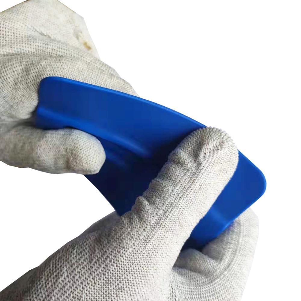 Профессиональный оттенок bondo синий магнитный мягкий пластиковый скребок для окон скребок Инструменты Для оттенка A35
