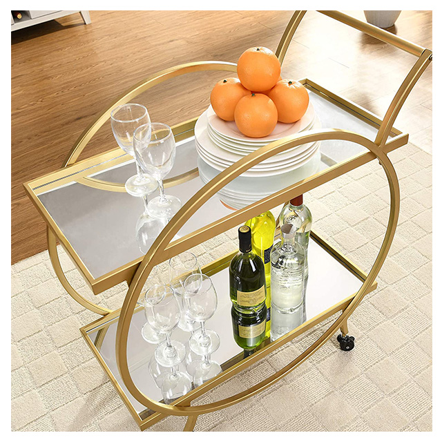 Good Quality glass bar trolley With Best Factory Price