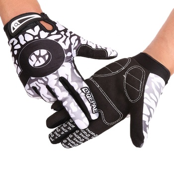Wear-resisting Motorcross Riding Gloves Non-slip Motorcycle Racing Gloves Mountain Bicycle Full Fingers Cycling Gloves