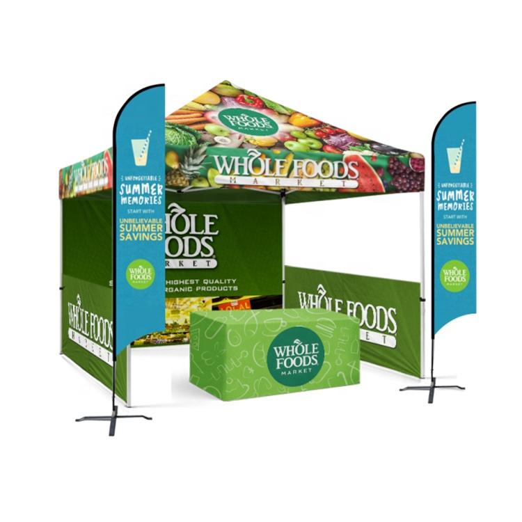 Рекламная акция, реклама, 10x10 футов, складная палатка, палатка для торговой выставки, алюминиевая палатка с навесом, беседка