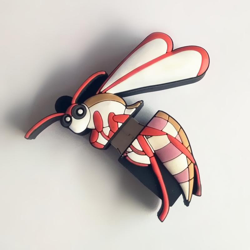 Real Capacity 4GB 8GB 16GB 32GB 64GB Cartoon Animal Ladybird Beetle Insect USB 2.0 Flash Memory Pen Drive Creative Pendrive - USBSKY | USBSKY.NET