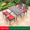 10-4 JL chair 1 oblique line pattern table 135*77cm
