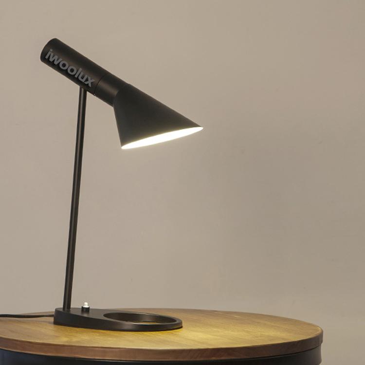 iwoolux Decorative Desk Lamp Reading LED Table Lamp