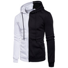 Sports New DIY Custom Asian Size M-3XL Weight 800g Sports Hoodies Men Simple Design Logo 80% Cotton 4 Colors Zipper Sweatshirts WY13