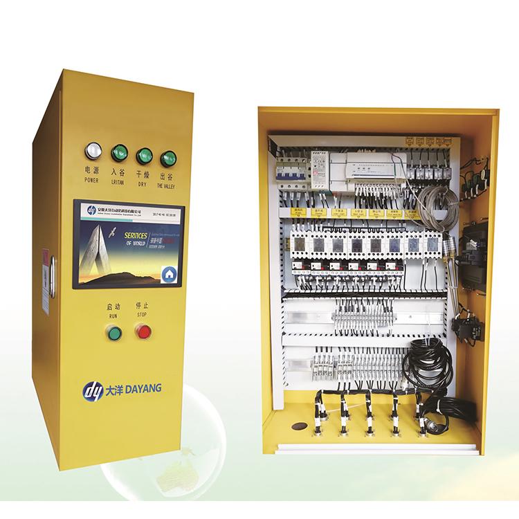 Электрический шкаф управления для зерновой сушилки ПЛК, система управления зерновой сушилкой