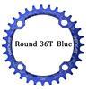כחול סגלגל 36T