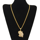China Jewelry Wholesale China Latest Cheap Iced Out High Polish Mens 316l Stainless Steel Hip Hop Tiger Head Pendant Jewelry