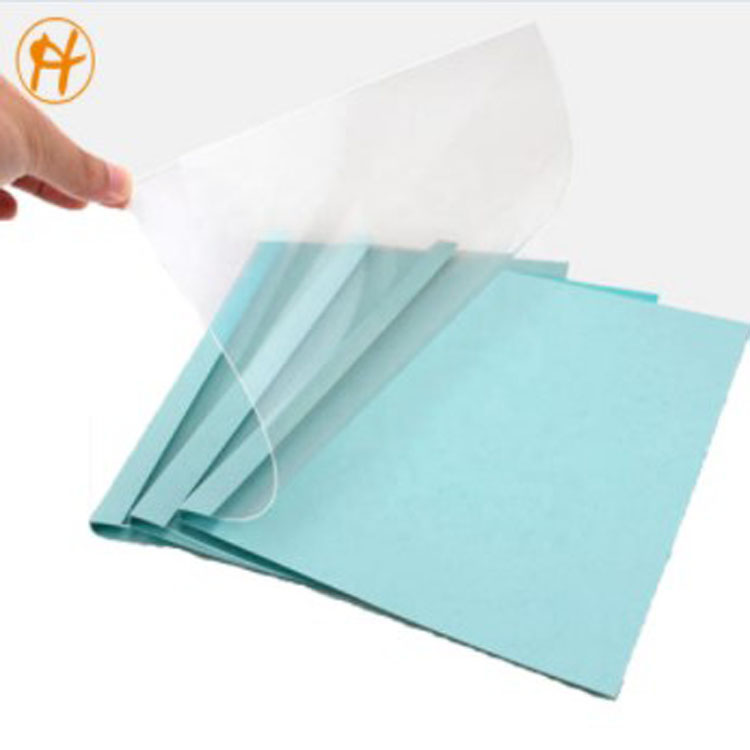 RECYCLED PVC RIGID SHEET FOR BINDING COVER