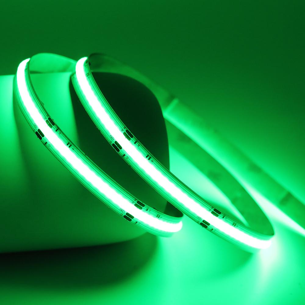 Светодиодная полоса, 12 В, комплект освещения, 24 В, комплект светодиодной полосы, светодиодная полоса cob, rgb rgbw