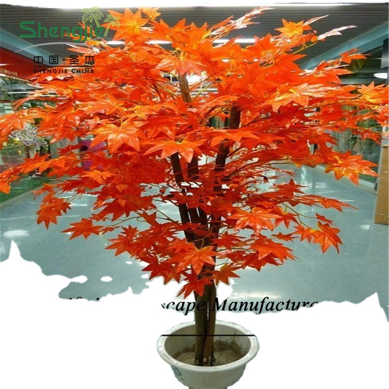 Sjzjn 2362 Artificial Red Maple Tree Cheap Artificial Tree Decorative Artificial Maple Bonsai Tree View Artificial Maple Tree Shengjie Product Details From Guangzhou Sheng Jie Artificial Plants Ltd On Alibaba Com