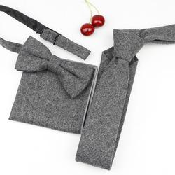 Шерсть полиэстер шейный галстук для мужчин тонкий галстук-бабочка в полоску в клетку с галстуком-бабочкой платок комплект бабочка свадьба галстук Corbatas