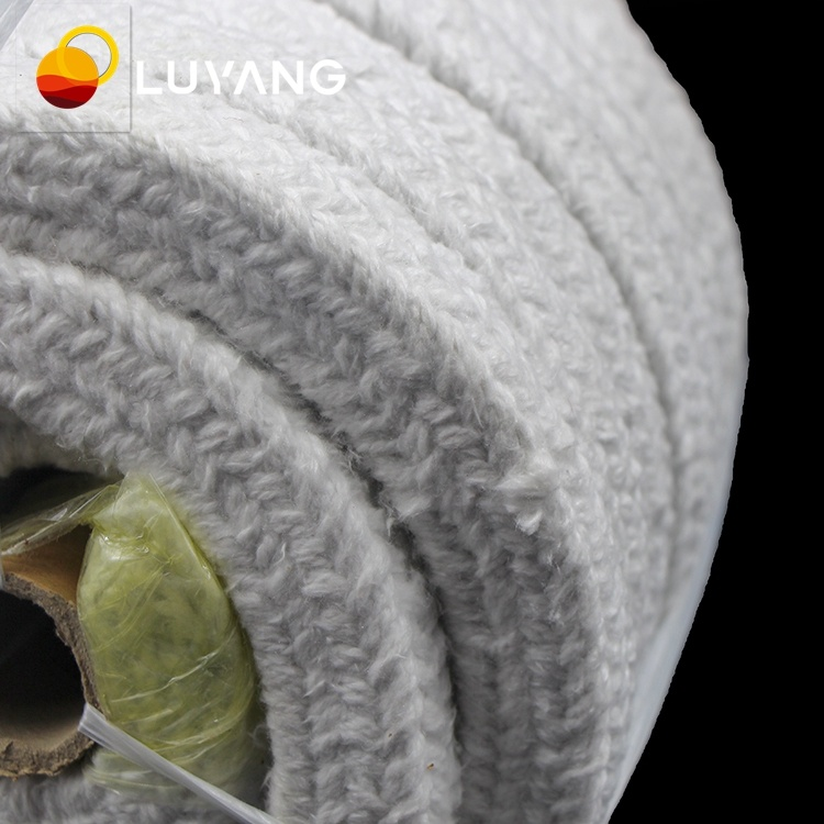 LUYANGWOOL Aluminum Silicate Wool Fireproof Ceramic Fiber Rope