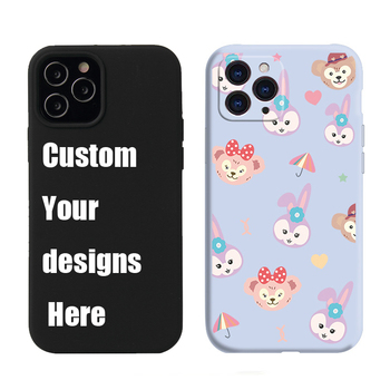 2020 New Arrival Luxury Soft TPU Liquid Silicone Case for iPhone Purple Custom Candy Color Liquid Silicone Phone Case for iphone