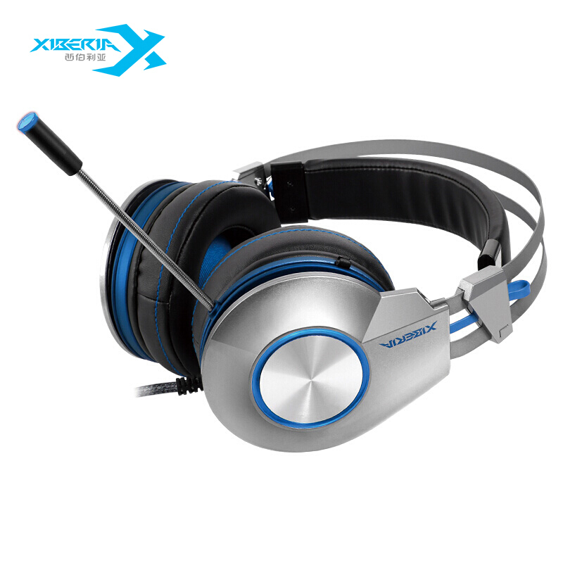 Factory Wholesale Interface 3.5MM Driver Diameter 50mm With Microphone Computer Wired Headset Stereo Sound Headphones